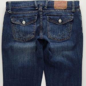 Lucky Brand Boot Cut Jeans Women's 8 Stretch  B538
